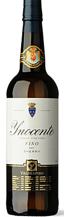 Sherry, Madeira and others - FINO 'INNOCENTE', Valdespino. Jerez (Sherry), Spain (Half bottle)