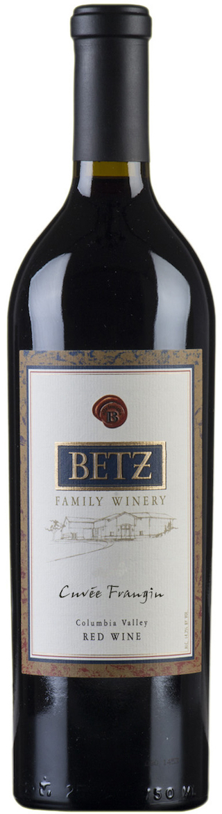 Serious dry reds - CUVÉE FRANGIN, Betz Family Wines. Columbia Valley, Washington State