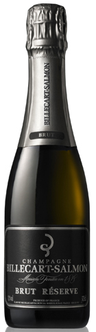 Sparkling & White - BILLECART-SALMON, Brut Réserve. Champagne (Half Bottle)