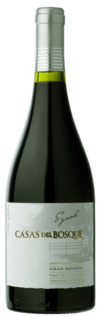 Powerful reds; New World - SYRAH GRAN RESERVA, Casas del Bosque. Casablanca Valley, Chile