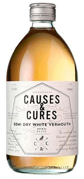 Other - CAUSES & CURES, Semi Dry White Vermouth