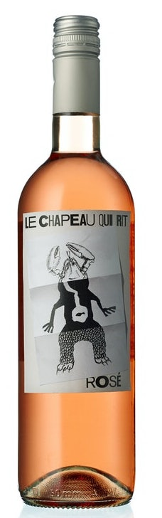 Rosé - 2019 LE CHAPEAU QUI RIT, ROSÉ. Pays d'Hérault, S. France (in stock from May 28th)