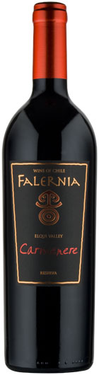Powerful reds; New World - CARMENERE RESERVA, Falernia. Elqui Valley, Chile