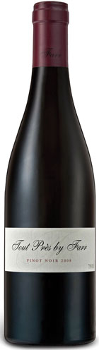 New World Pinot Noir - TOUR PRES PINOT NOIR, By Farr. Geelong, Victoria, Australia