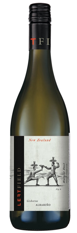 Fresh, dry whites - Albarino, Left Field, Gisbourne, New Zealand