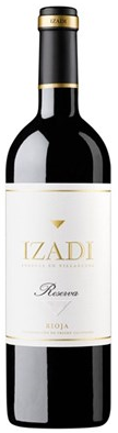 Red - RIOJA RESERVA, Izadi. Spain (Half bottle)