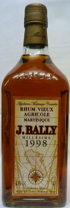 Other - J BALLY RUM, Vieux Agricole, Martinique, Caribbean