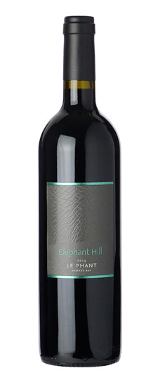 Bordeaux-style reds - LE PHANT, Elephant Hill. Hawkes Bay, New Zealand