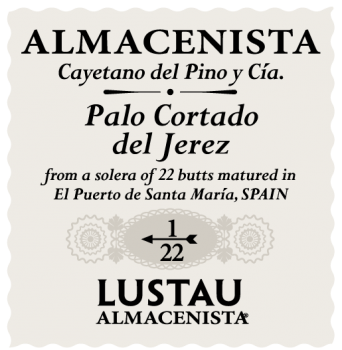 Sherry, Madeira and others - PALO CORTADO 'Vides', Lustau. Sherry   (Half bottle)