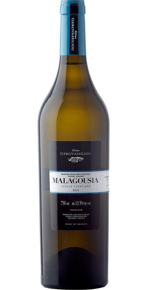 Fruity/aromatic; dry - MALAGOUSIA, Domaine Gerovassiliou. Greece
