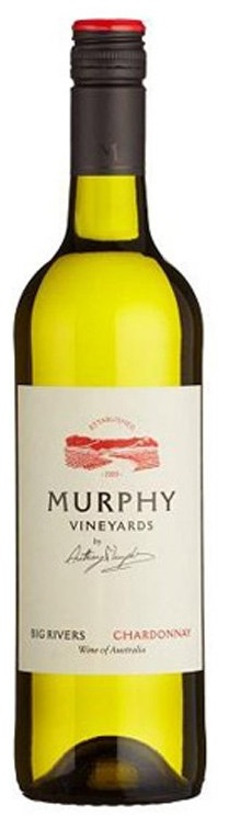 Full-bodied whites - UN-OAKED CHARDONNAY, Murphy Vineyards. Murray River, South Australia