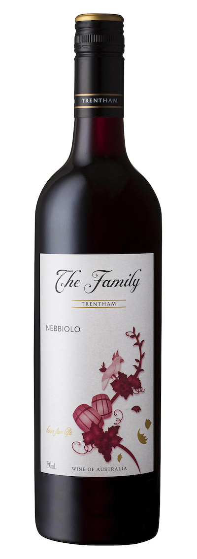 Savoury / earthy reds - NEBBIOLO, Trentham Estate. Murray Darling, Australia