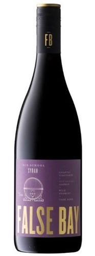 Savoury / earthy reds - OLD SCHOOL SYRAH, False Bay. South Africa