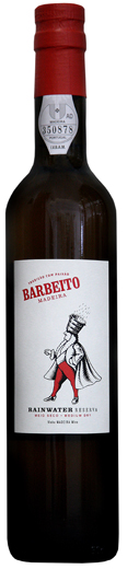 Sherry, Madeira and others - RAINWATER RESERVA, Barbeito. Madeira (50cl bottle)