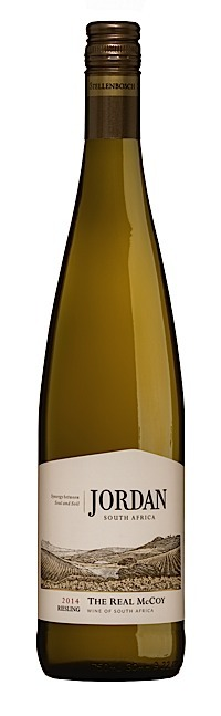 Fresh, dry whites (under £15) - THE REAL McCOY, Dry Riesling, Jordan. Western Cape, South Africa