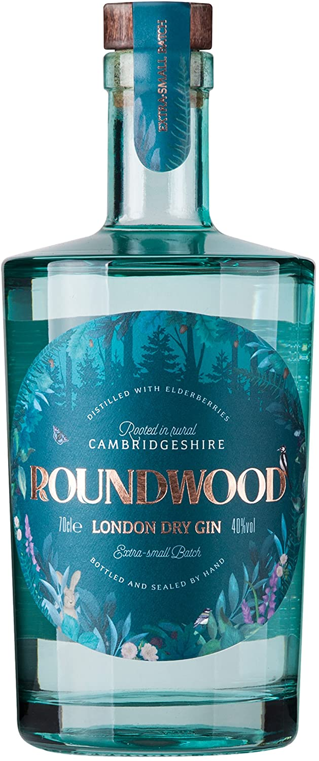 Gin, Vodka, Rum and Others - ROUNDWOOD LONDON GIN. Abbot\'s Ripton
