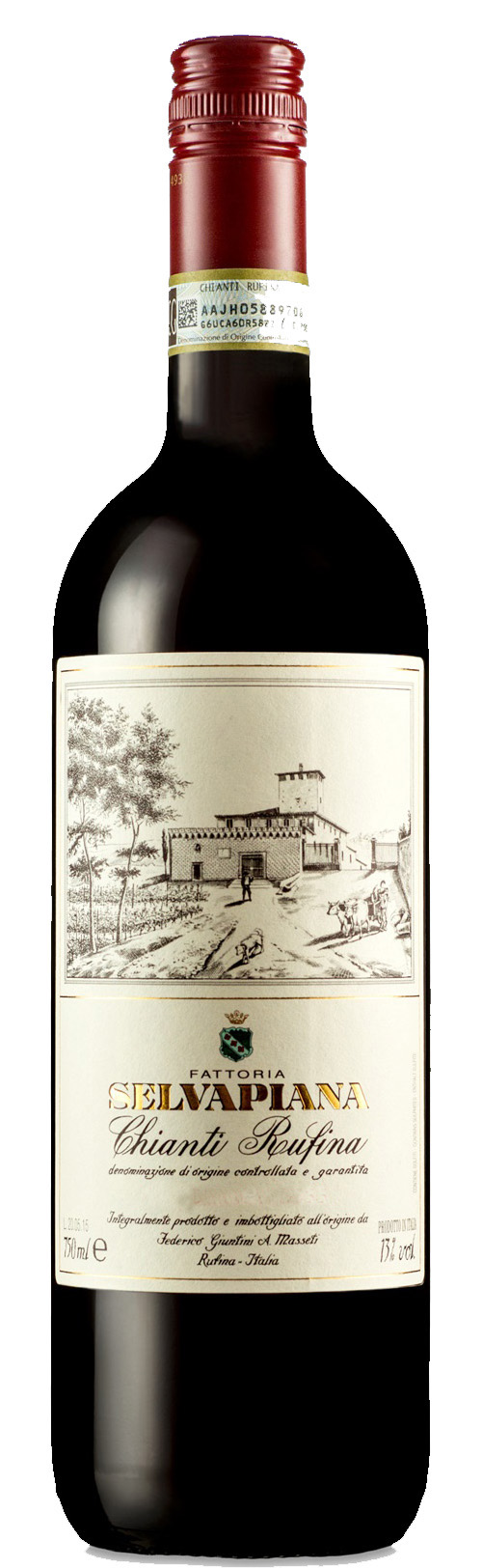 Light and medium-bodied reds - OUT OF STOCK: CHIANTI RUFINA, Selvapiana. Tuscany, Italy