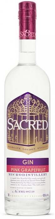 Other - Pink Grapefruit Gin, Sacred Spirits Co.