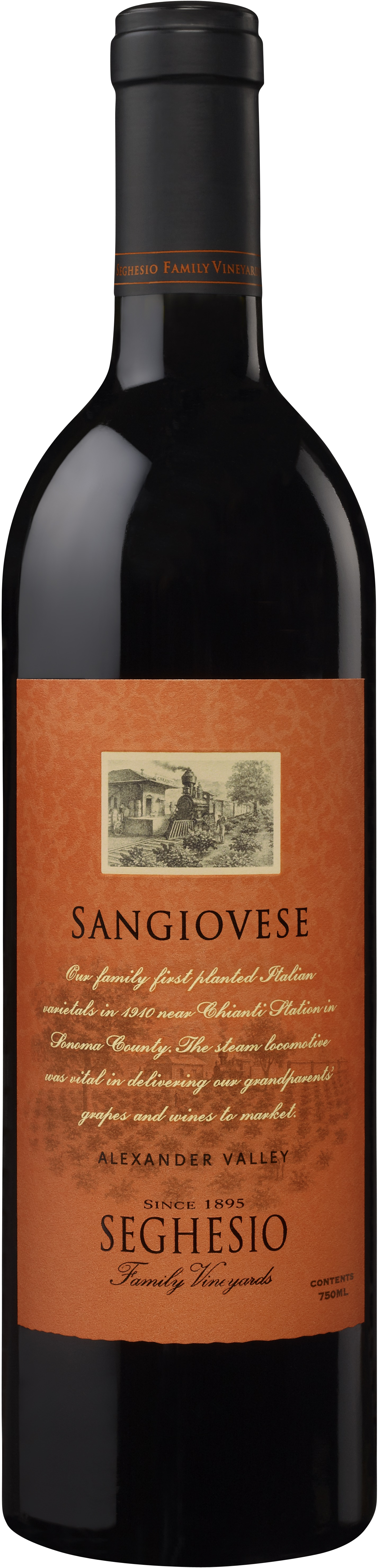 Powerful rich reds - SANGIOVESE, Seghesio. Alexander Valley, California