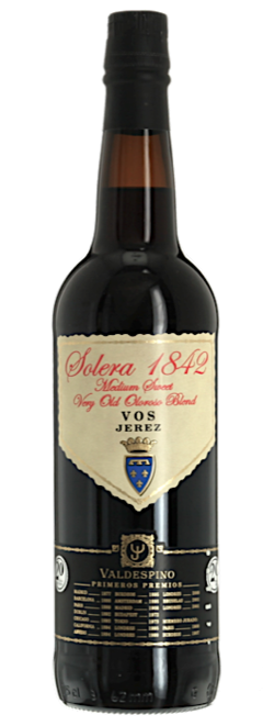 Sherry, Madeira and others - SOLERA 1842, Valdespino. Jerez (Half Bottle)