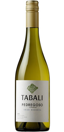 Fruity/aromatic; dry - TABALI VIOGNIER. Limari Valley, Chile