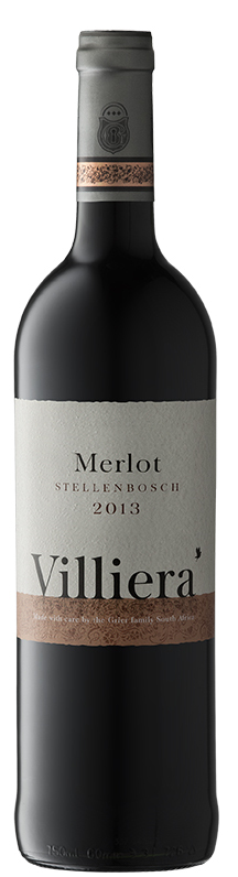 Full-bodied New World reds - MERLOT, Villiera. Stellenbosch, South Africa