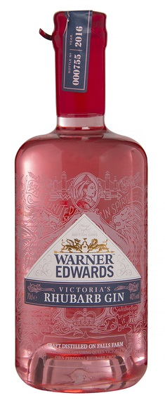 Other - VICTORIA\'S RHUBARB GIN, Warner Edwards