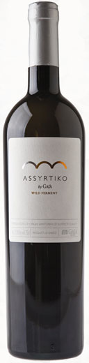Full-bodied; other - ASSYRTIKO, 'Wild Ferment', Gaia. Santorini, Greece