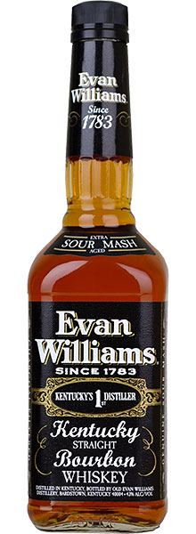 Whisky - EVAN WILLIAMS, Kentucky Bourbon