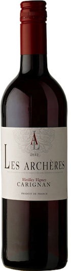 Light and medium-bodied reds - LES ARCHÈRES, Carignan Vieilles Vignes. Vin de Pays de L'Hérault, France