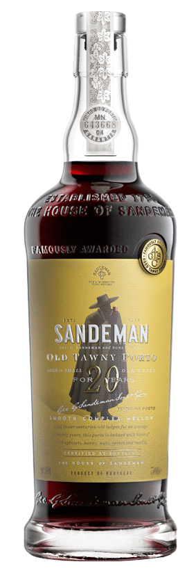 Port and Port Style - 20 YEAR OLD TAWNY PORT, Sandeman
